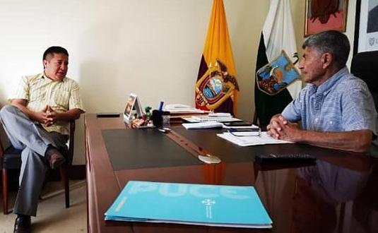 REUNIÓN CON EL CONAGOPARE DELEGADOS DEL MEDIO AMBIENTE Y MINISTERIO DE EDUCACIÓN.