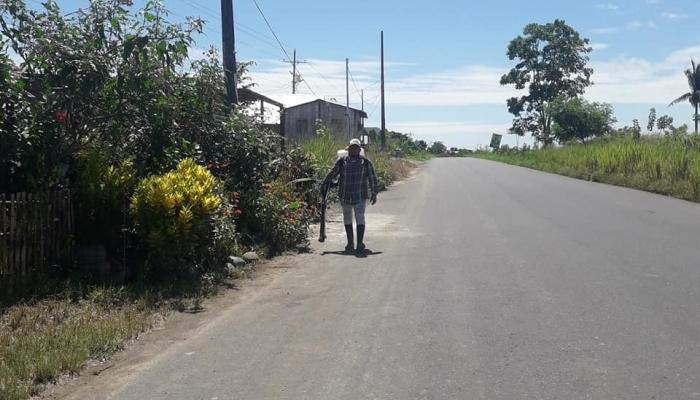 SE CUMPLE FUMIGACION  INTRADOMICILIARIA EN DIFERENTES SECTORES DE NUESTRA PARROQUIA.